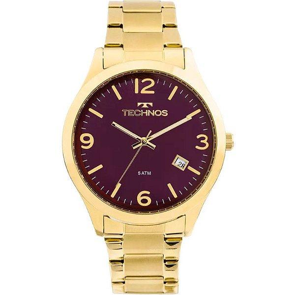 Relógio Technos Feminino Elegance Dourado 2315acd 4n - Retran Joias 230b1ca69f