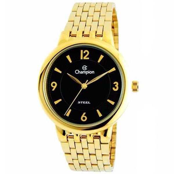 de9e972abd0 Relógio Champion social analógico dourado Ca21731u - Retran Joias