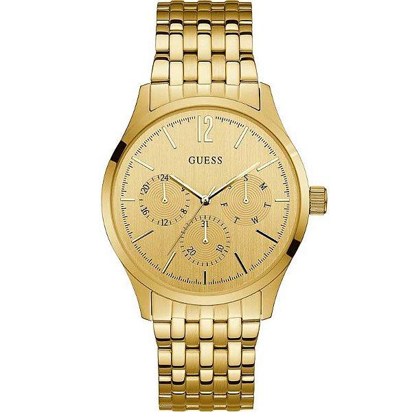 34f58a5fd70 Relógio Guess Feminino Dourado 92687lpgtda1 - Retran Joias