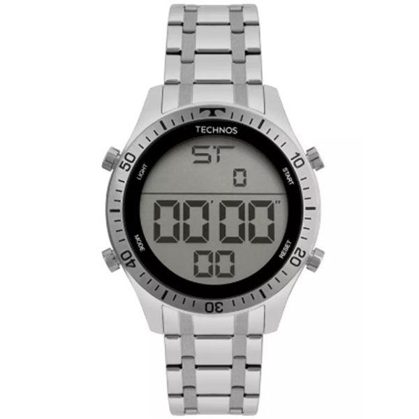 175768eedfa Relógio Technos Masculino Digital Prata T02139ac 1c - Retran Joias