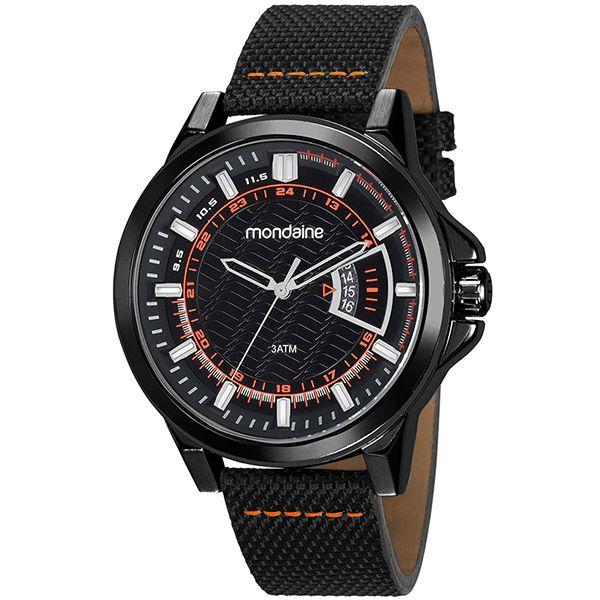 Relógio Mondaine Masculino Preto 99333gpmvpj2 - Retran Joias 06b96a71d6