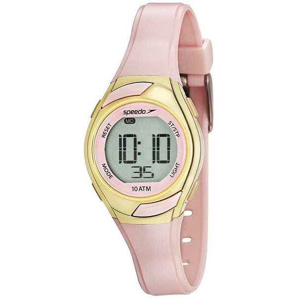 b302f1901af Relógio Speedo Feminino Infantil Rosa Dourado 80630l0evnp2 - Retran ...