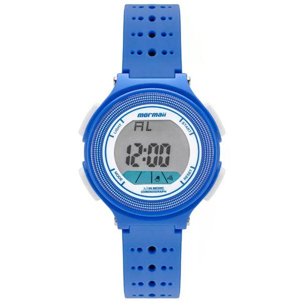Relógio Mormaii Infantil Digital Azul Branco Mo0974 8a - Retran Joias 2ba3a992b1