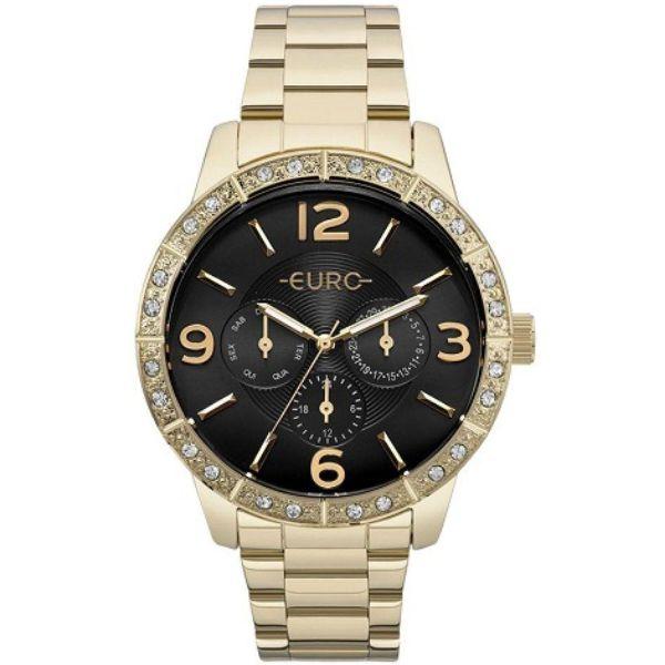 4853c5627e2 Relógio Euro Feminino Dourado Eu6p29agx 4x - Retran Joias