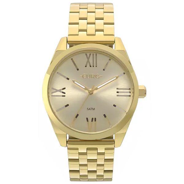 288a6a3241334 Relógio Euro Feminino Recortes Dourado Eu2035yng 4p - Retran Joias