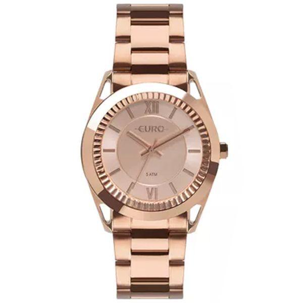 590690ed530 Relógio Euro Feminino Metal Frame Rosê Eu2035ypr 4j - Retran Joias