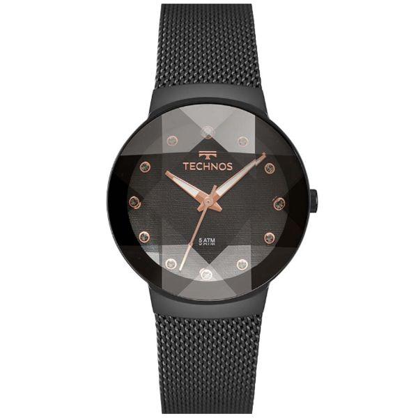 c18cd8db7ed73 Relógio Technos Feminino Elegance Crystal 2035mpt 5p - Retran Joias