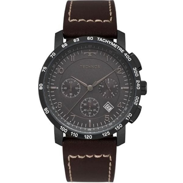 cad618be47f Relógio Technos Masculino Skymaster Preto Marrom 6s20ab 2p - Retran ...