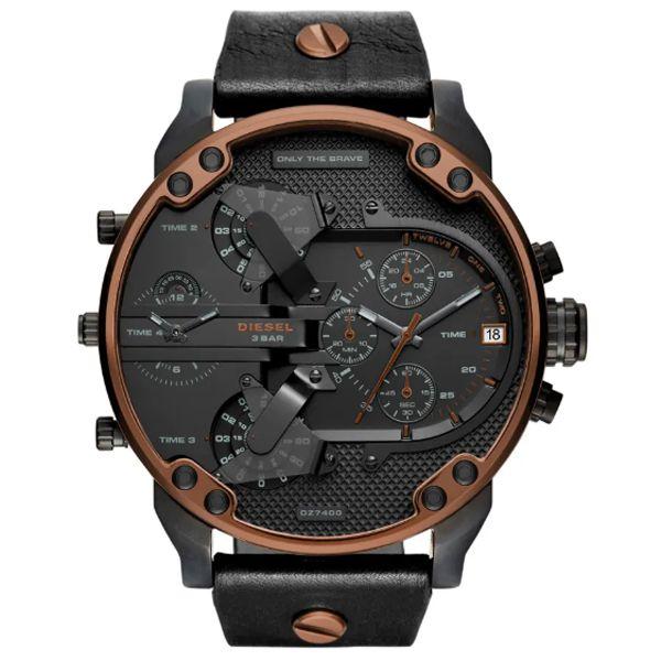 Relógio Diesel Masculino Preto Dz7400 2pn - Retran Joias 85148a9b83