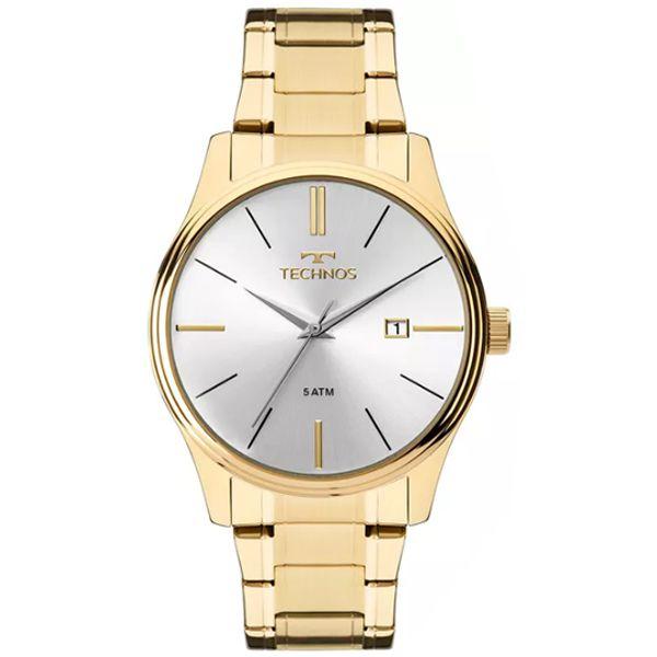 9841ccf94db14 Relógio Technos Masculino Steel Dourado 2115mpn 4k - Retran Joias