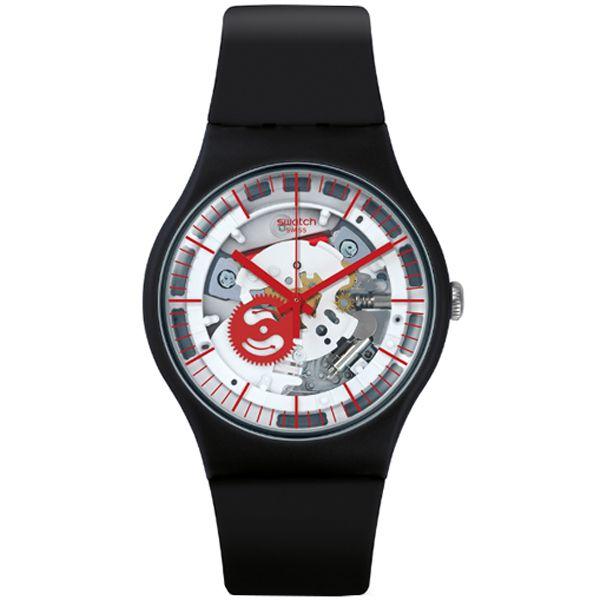 095e4326ea4 Relógio Swatch Siliblack Masculino Suob153 - Retran Joias