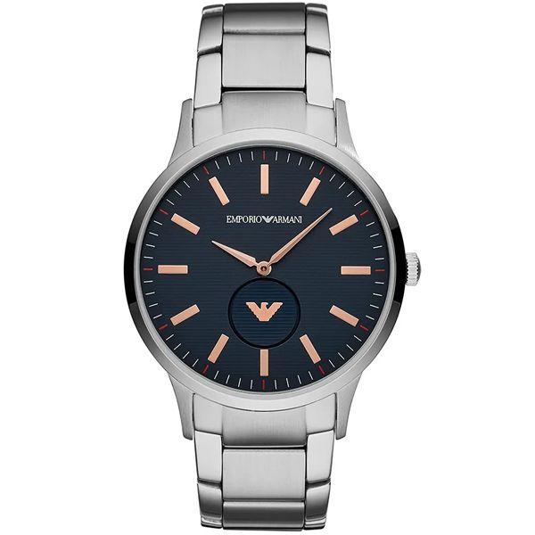 Relógio Emporio Armani Masculino Renato Prata Ar11137 1kn - Retran Joias 270f1f258e