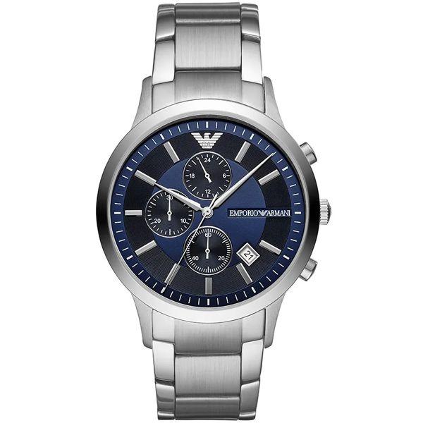 b59baa6ed08 Relógio Empório Armani Masculino Prata Ar11164 1kn - Retran Joias