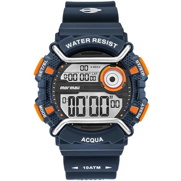 35c0db820d1e4 Relógio Mormaii Masculino Acqua Azul Monxe 8l - Retran Joias
