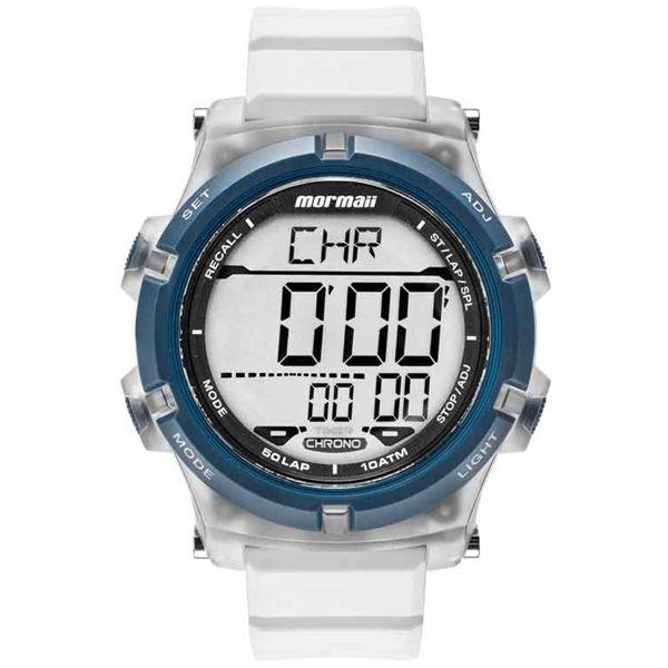 e1ede17e1f5 Relógio Mormaii Masculino Acqua Azul Branco Mo1192aa 8b - Retran Joias