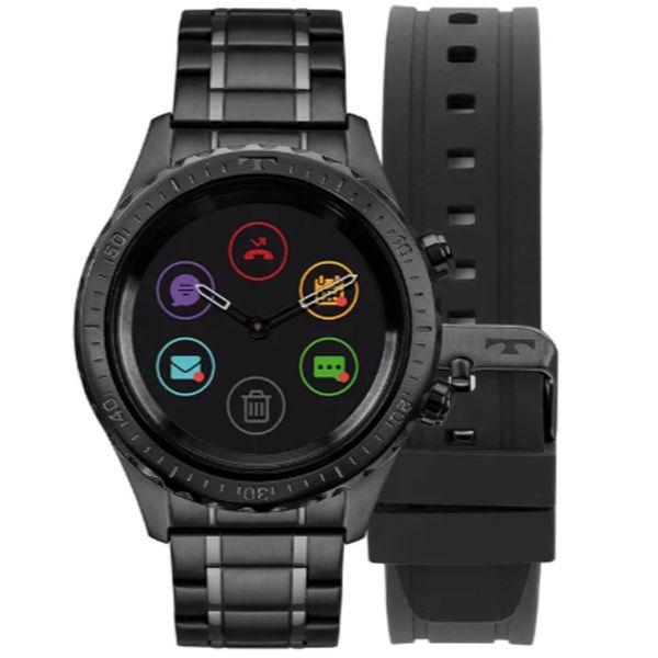 Relógio Technos Masculino Connect Duo Preto P01ab 4p - Retran Joias db8b45030e
