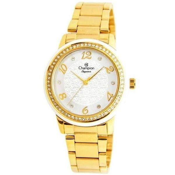 ee923ebf24d Relógio Champion Feminino Dourado Cn25994h - Retran Joias