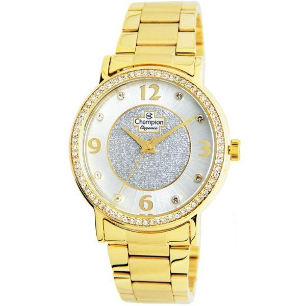 58c8c34d5ce Relógio Champion Feminino Dourado Cn25752h - Retran Joias