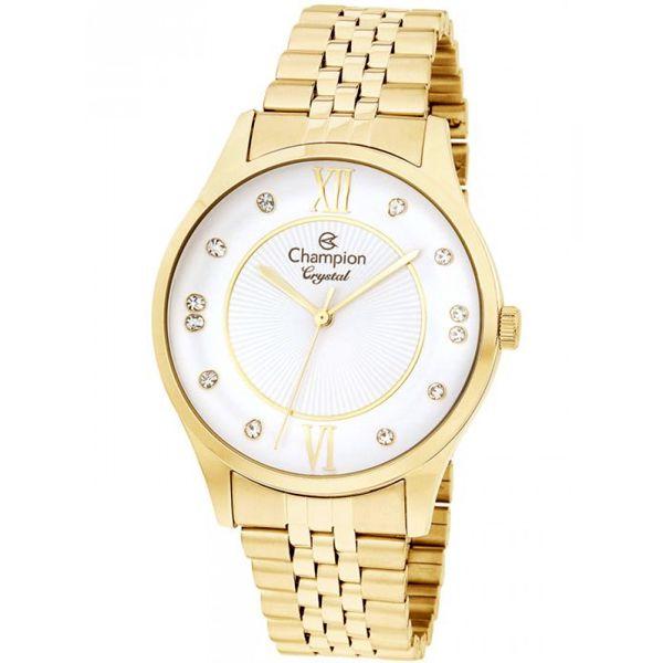 aae76cc9147 Relógio Champion Feminino Dourado Cn25538h - Retran Joias