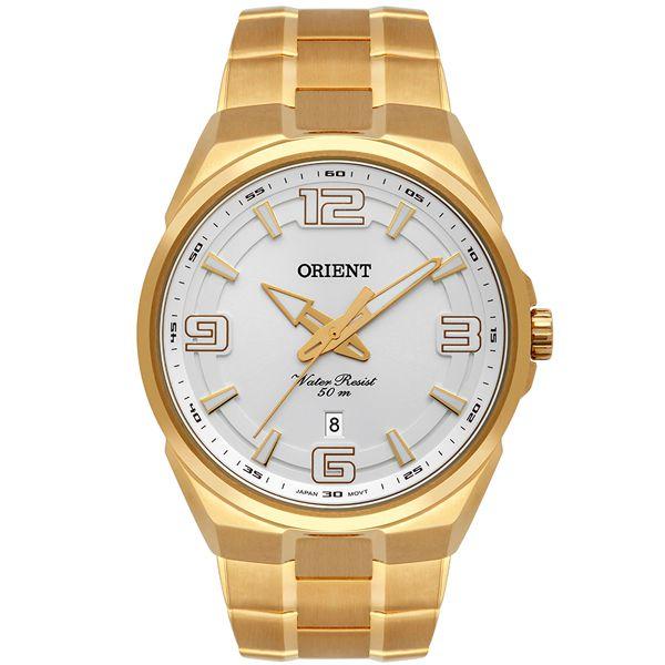 6c37904f4b3 Relógio Orient Masculino Dourado Mgss1162 S2kx - Retran Joias