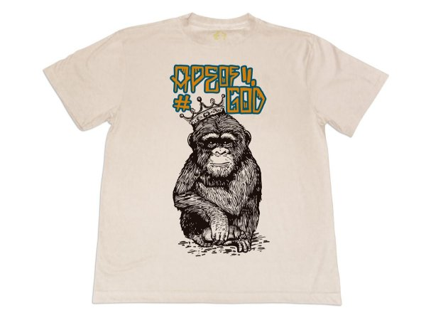 Camiseta Ape King Bege