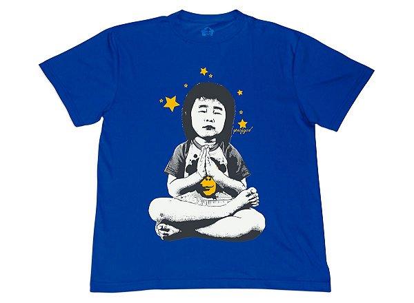 Camiseta Ape Prays Azul