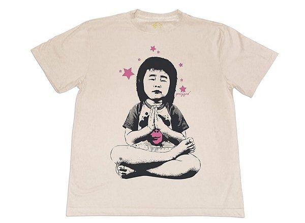 Camiseta Ape Prays Bege