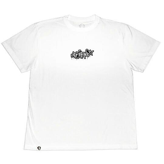 Camiseta Collab APE of GOD x Ink Art Tattoo TAG Ape Branca