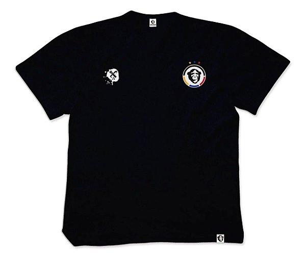 Camisa de Time APE of GOD preta bordada
