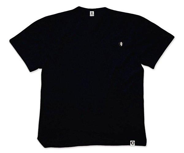 camiseta APE of GOD preta bordada