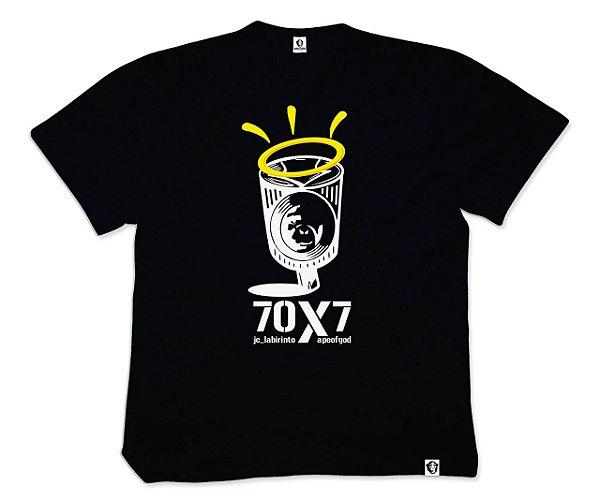 Camiseta APE of GOD vs Jc_Labirinto preta