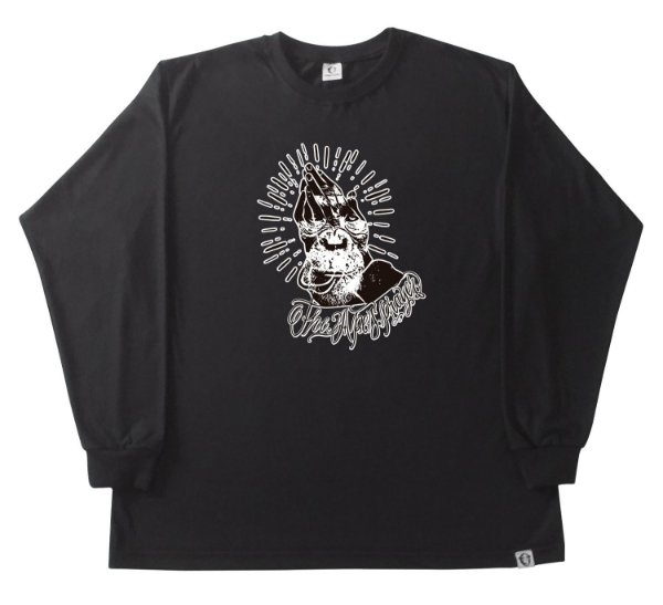 122. CAMISETA MANGA LONGA PRETA THE APES PRAYER