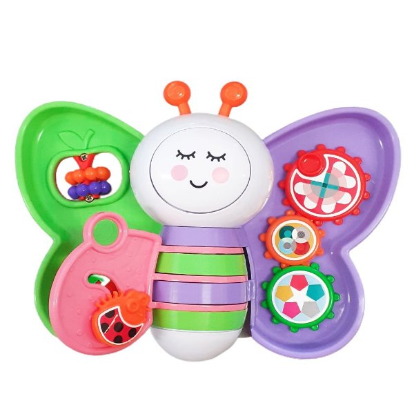 Brinquedo Educativo Bebe Babyleta 6M+ Som E Luz Menina