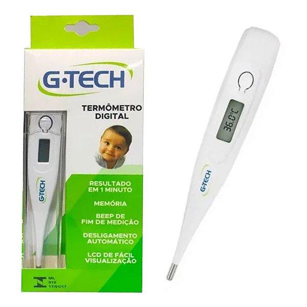 Termometro Digital Infantil Clinico Medidor de Febre Branco