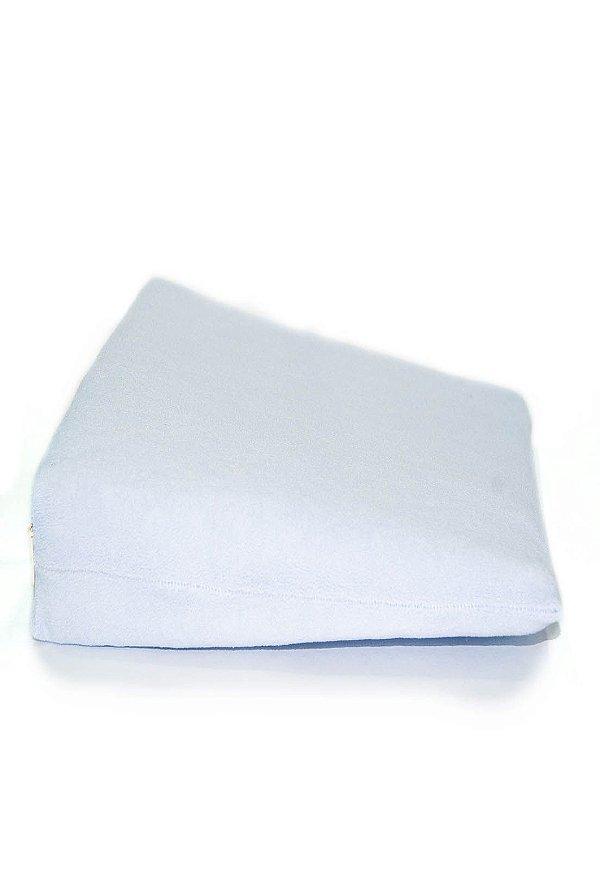 Travesseiro Anti Refluxo para Carrinho Soft Baby Branco