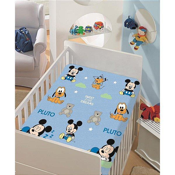 Manta de Microfibra Soft Jolitex Mickey Baby