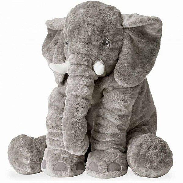 Bichos de pelúcia WU  para bebês Elefante Cinza