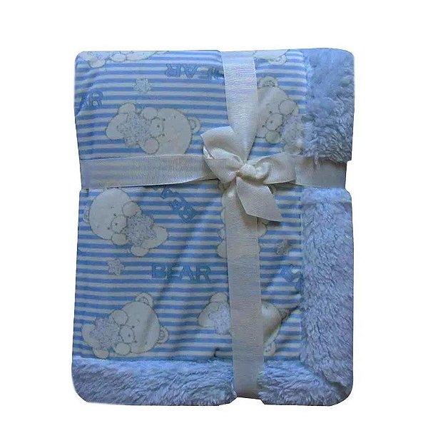 Edredom Carneirinho Azul Jolitex Ternille