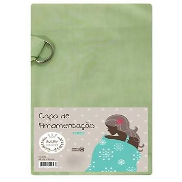 Capa De Amamentação Baby Deluxe Verde