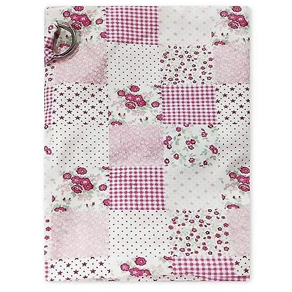 Capa De Amamentação Baby Deluxe Rosa Patchwork