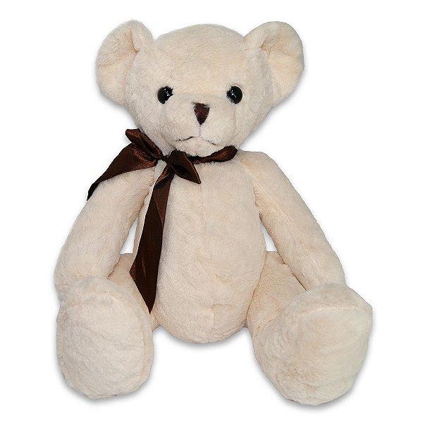 Bicho de Pelúcia Fofy Toys 32cm Urso Branco