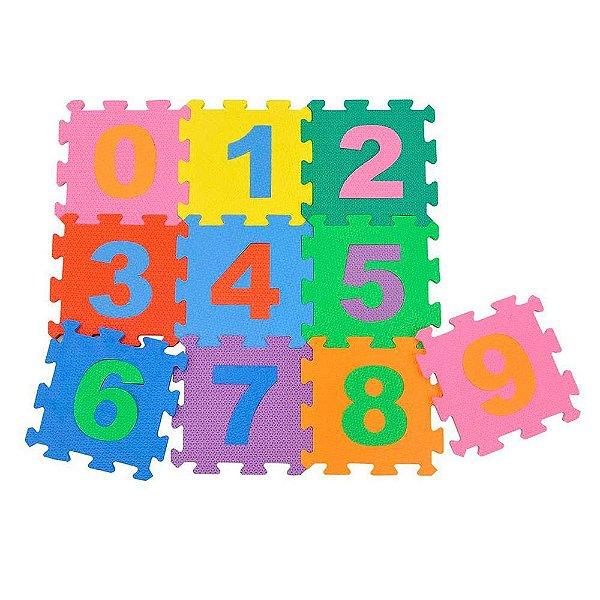 Tapete Infantil RDJ Numerico 10 Placas
