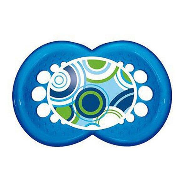Chupeta MAM Circles Tam 2 Azul