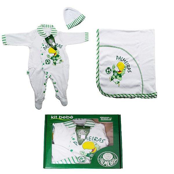 Conjunto Bebe Saída Maternidade Revedor Time Palmeiras