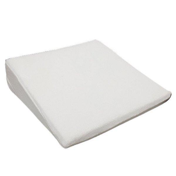 Travesseiro Anti Refluxo Bebe Rampa Carrinho Branco