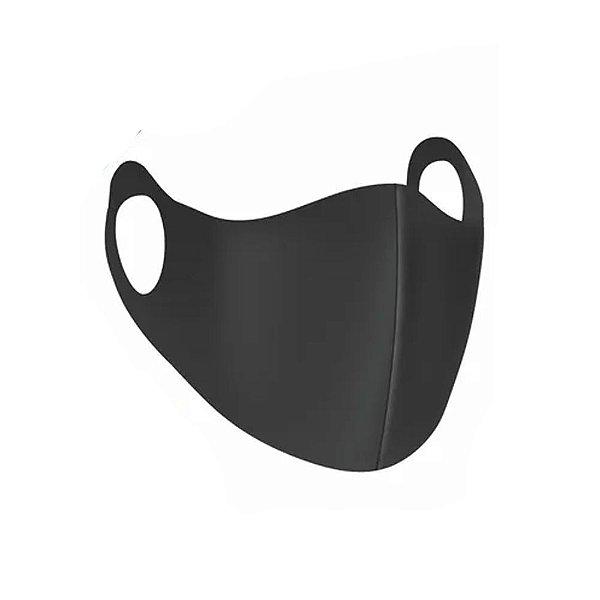 Mascara Infantil Neoprene Lavável Preta Proteção 4 Unidades