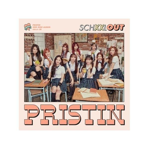 PRISTIN 2ND MINI ALBUM - SCHXXL OUT [RANDOM]