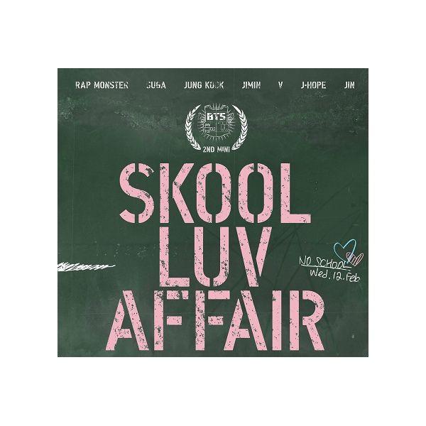 방탄소년단 BTS 2ND MINI ALBUM - SKOOL LUV AFFAIR