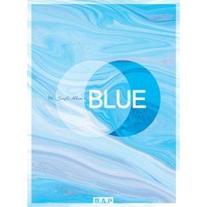 BAP 7TH SINGLE ALBUM - BLUE (A VER) CD