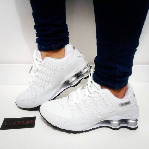 cheap for discount 1fac4 96575 Nike Shox Branco